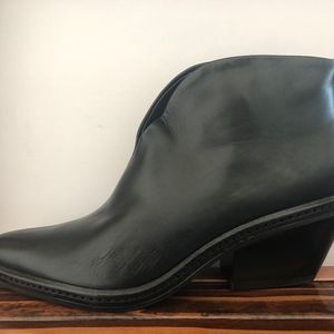 Via Spiga 75m375 Fianna Black Booties